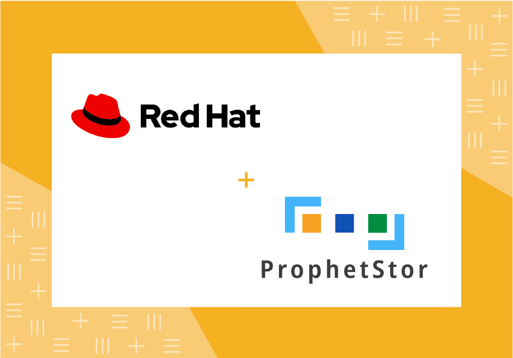 ProphetStor's flagship solution Federator.ai, which uses advanced machine learning technologies, is now available through Red Hat Marketplace.